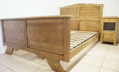 French Art Deco Double Bed