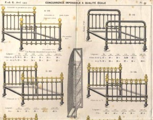 1905 Paris Manufacturers Advertisement