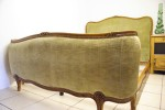 Vintage French Green Corbeille Bed