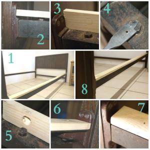 Vono Bed Making Wood Sides