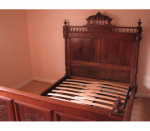 Adjustable Slatted Bed Base for 4ft to 5ft Beds b