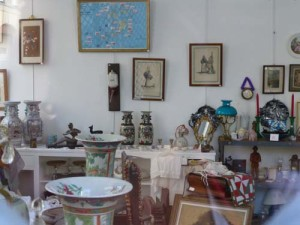 French Antique Shop Stock