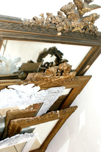 Variety Antique French Mirrors in Stock