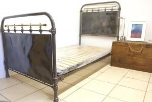 Industrial Style Antique French Single Bed