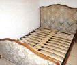 Adjustable Slatted Bed Base French Upholstered Capitonné Beds