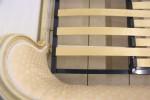 Adjustable Slatted Bed Base French Corbeille Upholstered Beds