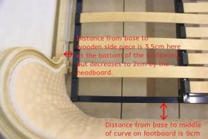 Adjustable Slatted Bed Base French Corbeille Upholstered Beds (11)