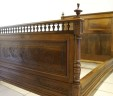 Antique French Bed Henry II Style Double ( Short ) INCLUDES BASE