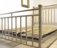 French Bed Industrial Style 4 ft 6 Double Shabby Chic INCLUDES BASE