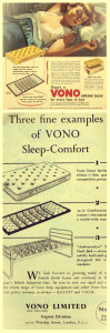 Vintage Vono Advert