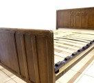 Adjustable Slatted Bed Base Antique British Edwardian Vono Double Beds