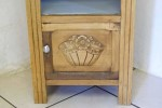 French Antique Art Deco Bedside Cabinet 1930s