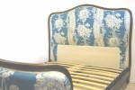 French Upholstered Corbeille Double Bed