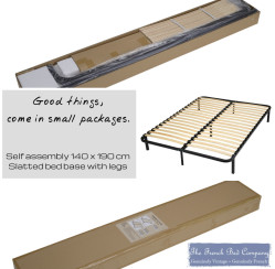NEW PRODUCT – Flat Pack Slatted Bed Base With Legs
