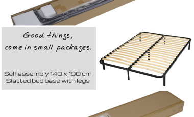 Coming Soon – New Slatted Bed Base On Legs : Kit Box