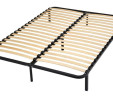 Slatted Bed Base With Legs : Flat Pack : Standard UK Double 140 x 190 cm – Reduced