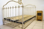 Cream & Brass Bed Awaiting Restoration