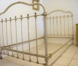 Antique French Bed Large Single EXCLUDES BASE