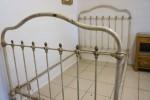 Cream & Brass Bed Awaiting Restoration