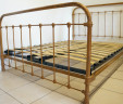 Antique French Bed 4 ft 6 Double INCLUDES BASE
