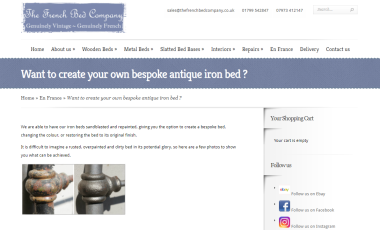 Check out our new blog, creating your own bespoke bed…
