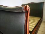 Elegant Upholstered French Bed