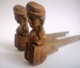 A Pair of Antique French Window / Door ' Bergere ' Shutter Stoppers