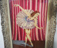 French Ballet Dancer Tapestry Christmas Gift From 1956