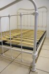Antique French Bed White 4 ft 6 Double