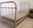 Antique French Bed 3ft Single Shabby W/ Slatted Bed Base